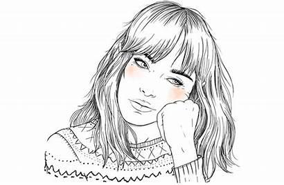 Sara Herranz Outline Drawing Da Dibujos Draw