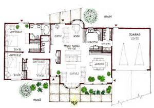 split entry floor plans ranch passive solar