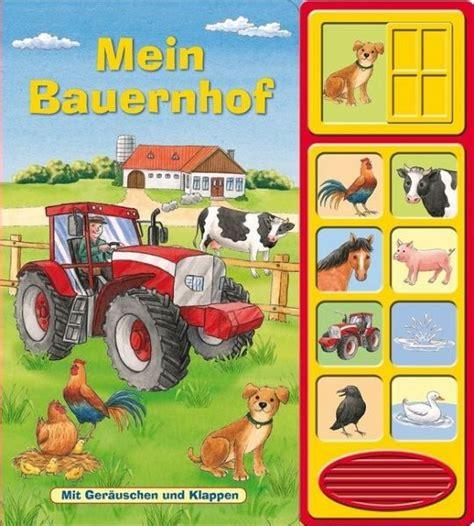 Mein Bauernhof Klappengeräusche Buch  Buch Bücherde