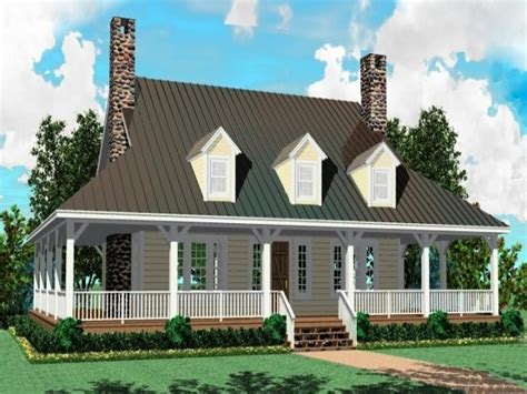 story farm house plans adding  porch    story brick house single level farmhouse