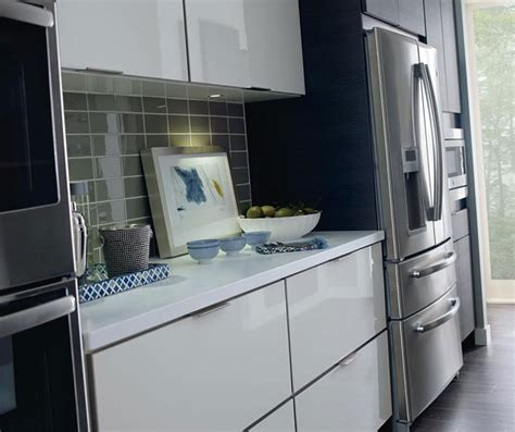laminate cabinets in a contemporary kitchen schrock