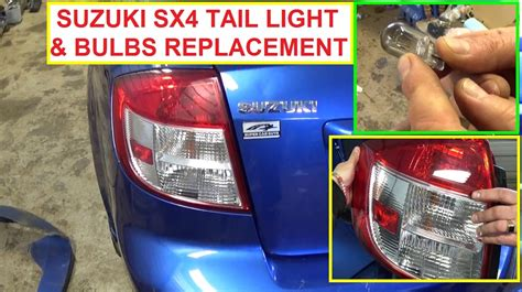 rear brake light bulb suzuki sx4 tail light replacement tail light bulb brake