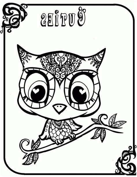 coloring pages  owl babies coloring home