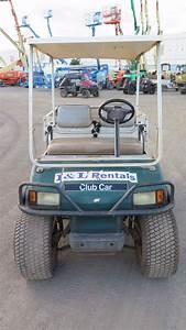 2002 Club Car Carryall Turf 252 Industrial Gas Utility