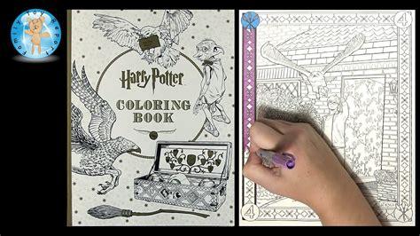 harry potter coloring book  scholastic owl wizard magic