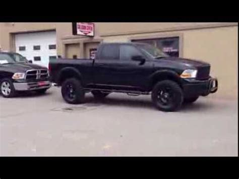 Stock vs Lifted Custom 2012 Dodge Ram 1500   MacIver Dodge