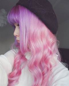 Pastel purple and pink ombre - Hair Colors Ideas