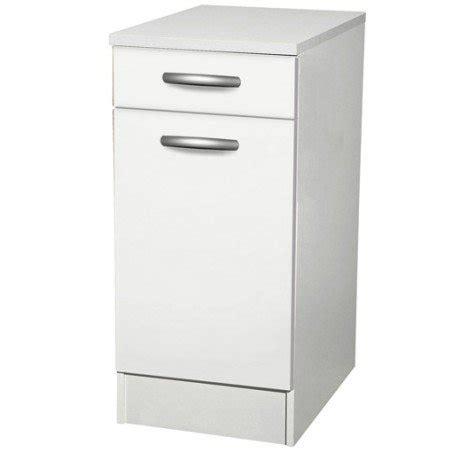 facade meuble cuisine leroy merlin meuble de cuisine bas 1 porte 1 tiroir blanc h86x l40x