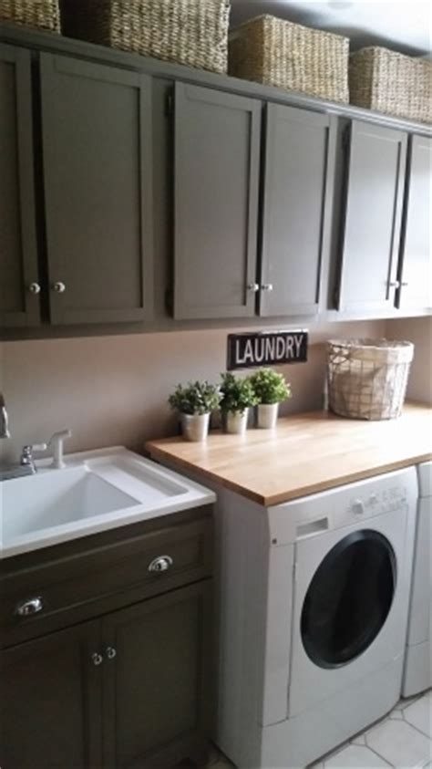 diy redo cheap tricks  budget friendly laundry room