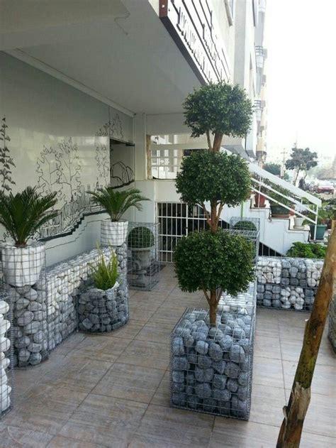 Diy Trockenmauer  Gabionen (steinwand) Selber Bauen Ohne