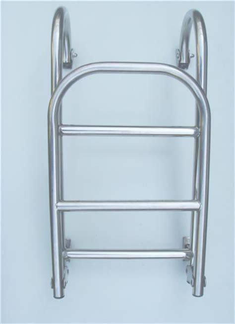 Stainless Folding Boat Ladder by Stainless Steel Folding Boat Ladder