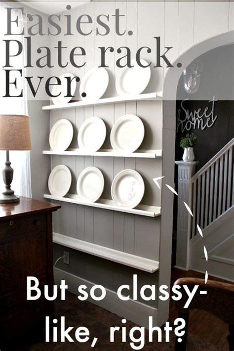 easiest diy plate rack   creek  house