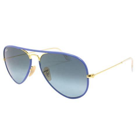 ray ban light blue gradient ray ban aviator full colour sunglasses rb3025jm 001 4m