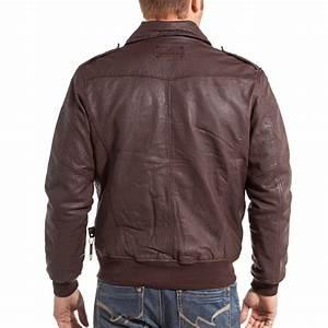 lenny loyd veste homme marron en cuir swag blz jeans With veste cuir carreaux homme