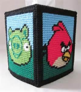 Plastic Canvas Patterns Tissue Box Cover