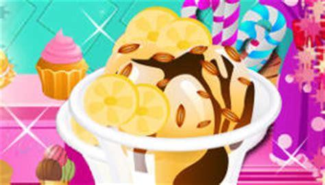 jeux de cuisine de glace glace à la banane jeu de glace jeux 2 cuisine