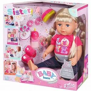 Baby Born Auf Rechnung : zapf 820704 baby born interactive sister zapf ~ Themetempest.com Abrechnung