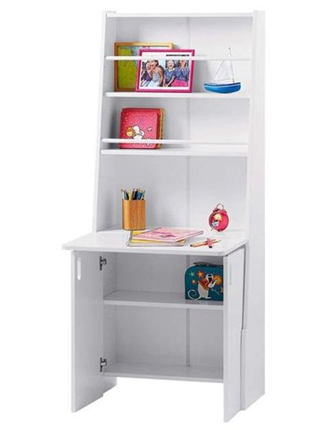bureau capsule escamotable laque blanc vertbaudet enfant d 233 co best room ideas