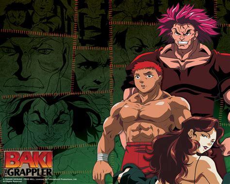 baki anime jk grappler baki baki the grappler grappler baki 2001