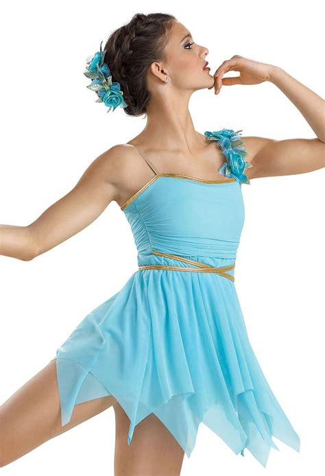 light blue lyrical costume the gallery for gt lyrical dance costumes blue