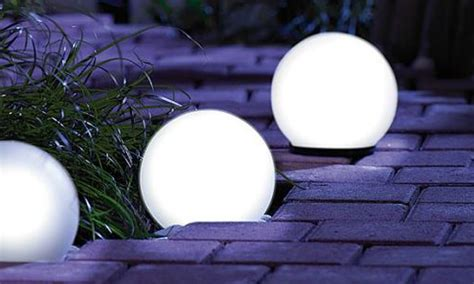 boules lumineuses solaires groupon