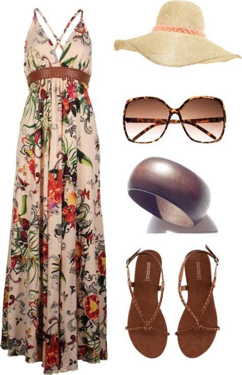 trendy maxi dress polyvore combos  copy  summer
