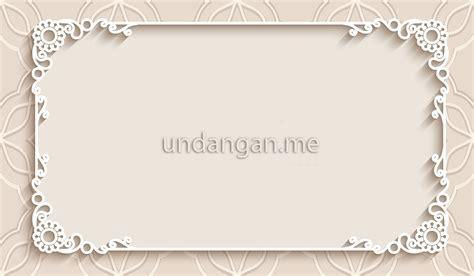 bingkai bunga undangan pernikahan