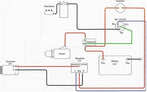 Wiring Diagram For Ford 8n 12 Volt by 52 Ford 8n 12 Volt Conversion Wiring Diagram