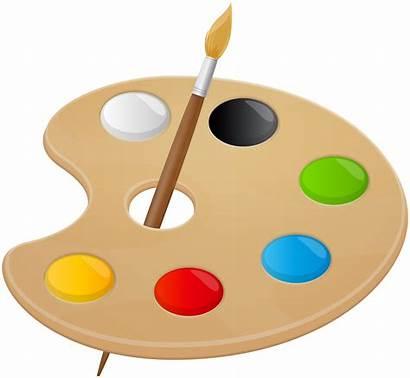 Palette Transparent Artist Clipart Clip Painting Yopriceville