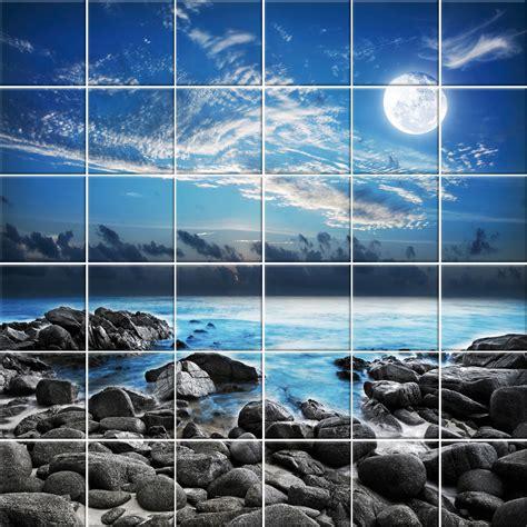 adesivo per piastrelle adesivi follia adesivo per piastrelle paesaggio