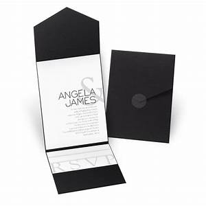 modern marvel pocket invitation invitations by dawn With modern marvel wedding invitations