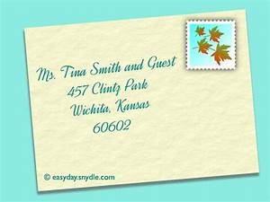 how to address wedding invitations easyday With wedding etiquette invitations for single guests