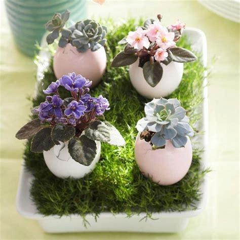 osterdeko basteln kreative vasen und blument 246 pfe aus eierschalen
