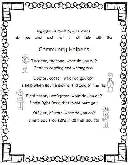 community helpers poem kindergarten kolleagues 660   6a8ed2daa25ca5b7f1116ea7511e9eb8