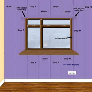 home interior frames how to wallpaper around a window or door reveal