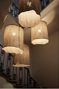 Lampen Für Treppenhaus : 20 ideen f r kreative handgemachte lampen diy und selbermachen lampen diy lampen und ~ Watch28wear.com Haus und Dekorationen
