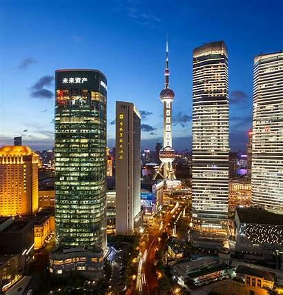 Shanghai Services Cgi Studio Tower Ecommerce Corporate