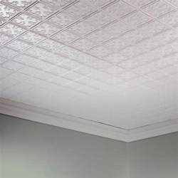 fasade traditional 10 2 x 4 pvc glue up ceiling tile