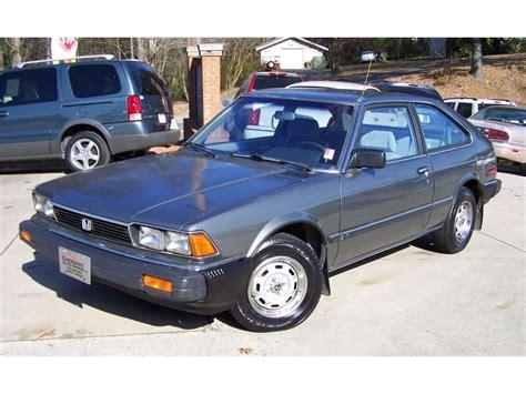 honda accord lx hatchback  sale classiccarscom