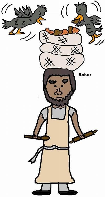 Joseph Interprets Dream Dreams Clipart Baker Butler