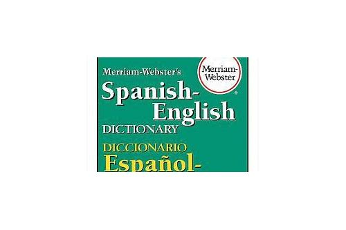 baixar dictionary webster online spanish english