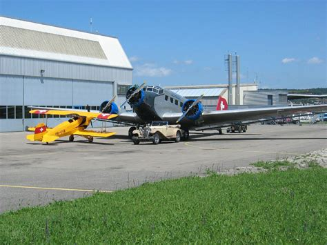 Junkers Ju 52 of the JU-AIR airline in Dubendorf Museum of ...