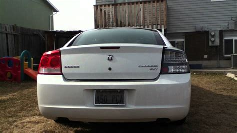 2007 dodge charger tail lights 2010 dodge charger led tail lights youtube
