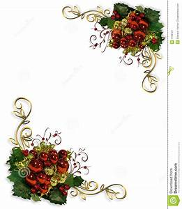 Free christmas corner border clipart collection