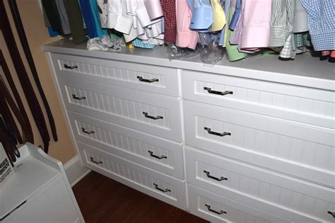 walk in closet drawers 2 george s custom cabinets and