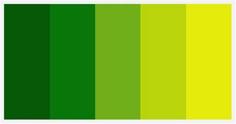 Inspirational Palettes Spectrums Of Green  Etsy Journal