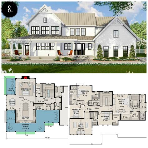 12 modern farmhouse floor plans rooms for rent blog