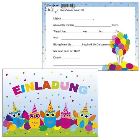 einladung kindergeburtstag zum ausdrucken kostenlos