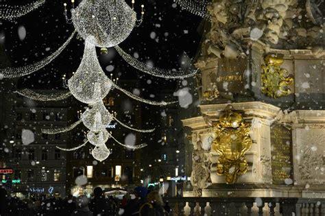 christmas lights vienna   nutshell