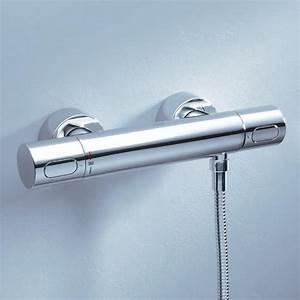 Grohe Grohtherm 3000 Cosmopolitan : grohe grohtherm 3000 cosmopolitan thermostatic shower mixer 34274000 reuter shop ~ Watch28wear.com Haus und Dekorationen